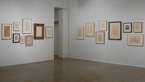 Alberto Giacometti: Drawings– installation view 2