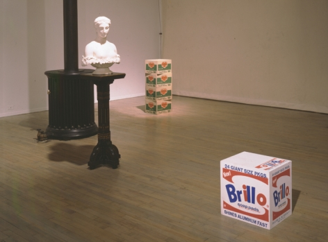 The Ideal Object: Hiram Powers (1848) and Andy Warhol (1964) – installation view 2