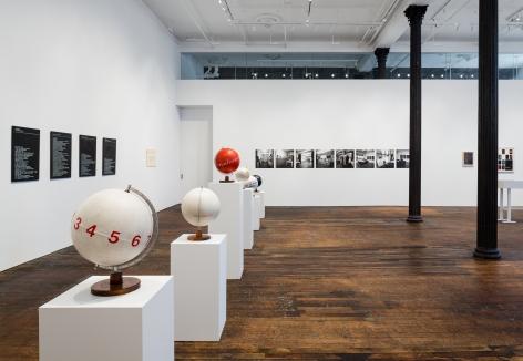 Mangelos: a retrospective of exhibitions 1972-1981 – installation view 1