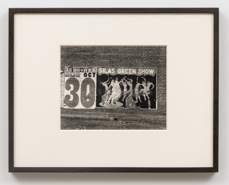 WALKER EVANS(1903-1975) Silas Green Show