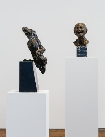 Medardo Rosso: Ten Bronzes– installation view 3