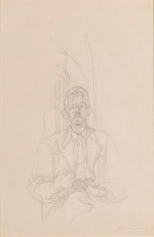 Alberto Giacometti Portrait de James Lord