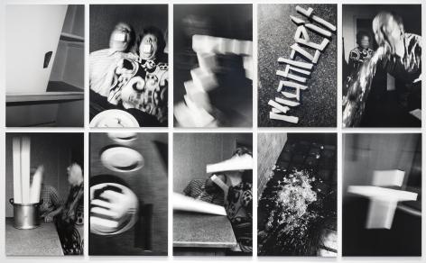 Mahlzeit 1989 10 vintage gelatin silver prints mounted on foam core and Plexiglas