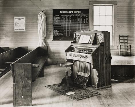 WALKER EVANS(1903-1975) The Church Organ, Rural Alabama