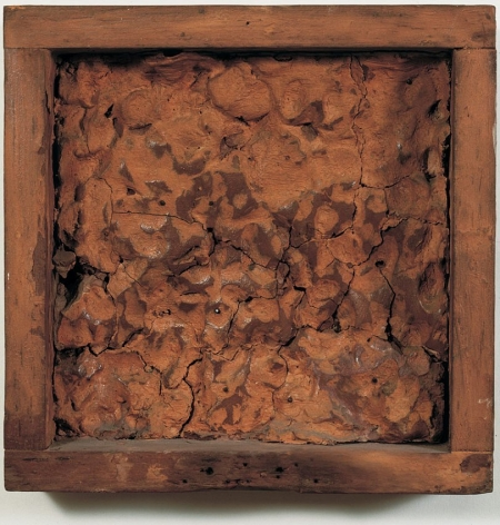 Robert Rauschenberg , Pink Clay Painting (To Pete)