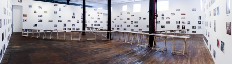 Richard Wentworth: motes to self – installation view 1