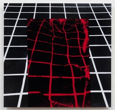 Mel Bochner Perspective Insert (Collapsed Center): Color