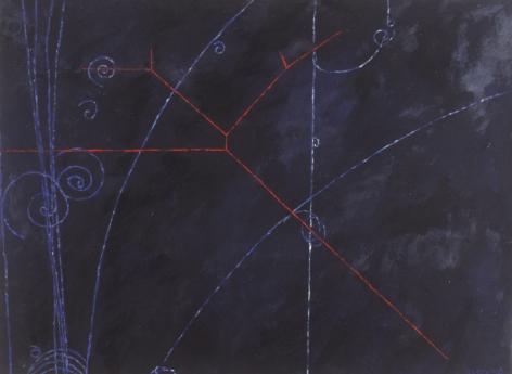 Jody Rasch, Particle Shower - Black