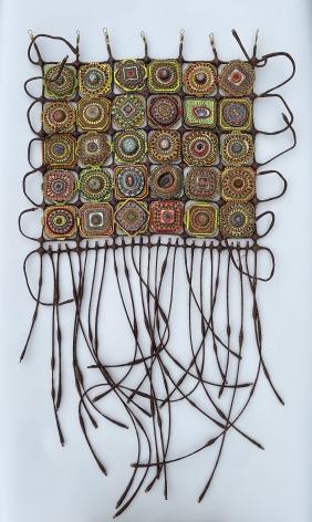 Amie Esslinger, Cell Grid (Brown)
