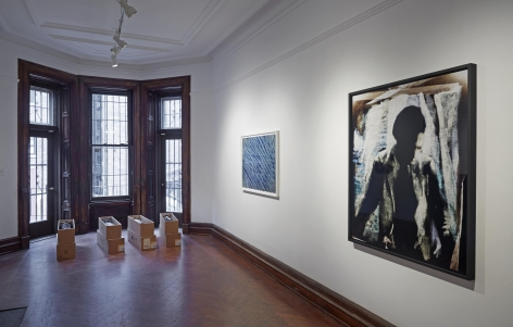 The Material Image (Installation View), Marianne Boesky Gallery (Uptown), 2014
