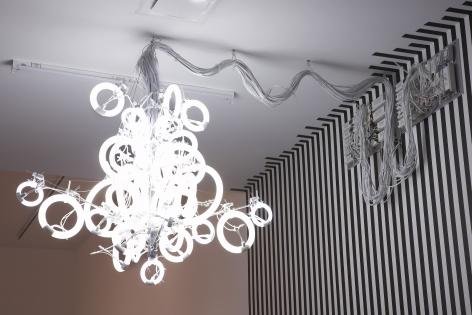 spiral light fixture by yuichi higashionna