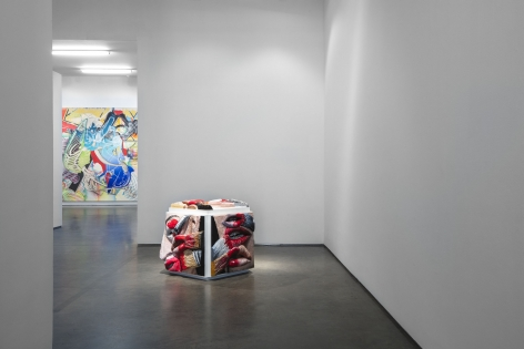 Painting/Sculpture (Installation View), Marianne Boesky Gallery,2019