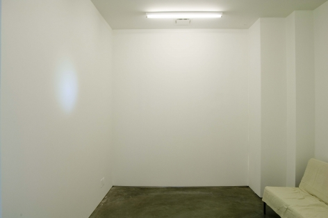 Jeffrey Wells, Video to Accompany Staring at a White Wall, 2006