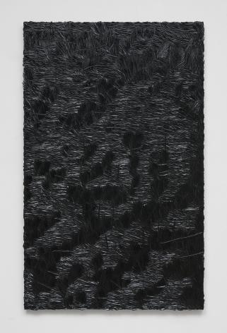 Elegy for whatever (monochrome 5), 2016, Oil on linen