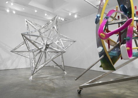 Frank Stella (Installation View)
