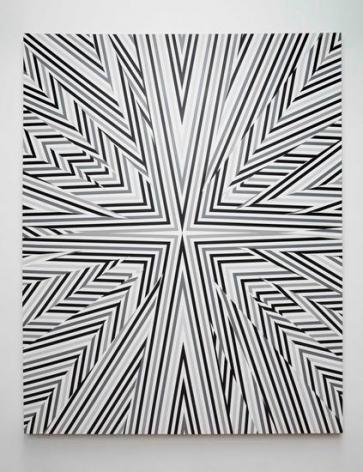 Untitled (app.150-01), 2014, Spray paint on canvas