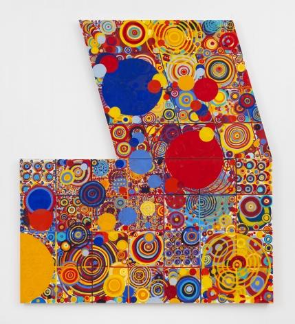 Jennifer Bartlett, Red Yellow Blue, 2000-2001