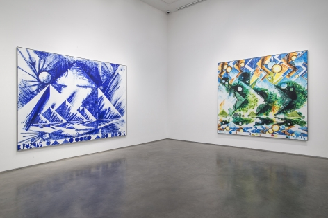 First Morning(Installation View), Marianne Boesky Gallery, 2015