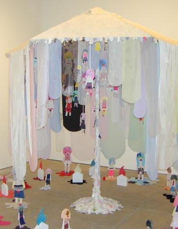 Yumiko Inada (Installation View), Marianne Boesky Gallery, 2004