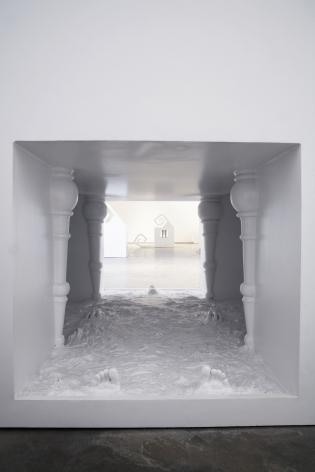 interior of a sculpture by liz craft
