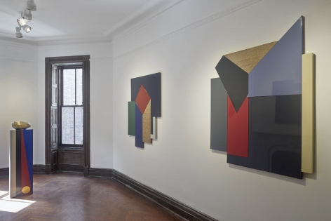 Andisheh Avini (Installation View), 118 East 64th Street, 2015