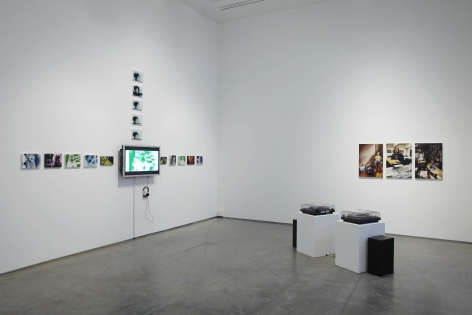 I Bleed Black(Installation View), Marianne Boesky Gallery, 2011