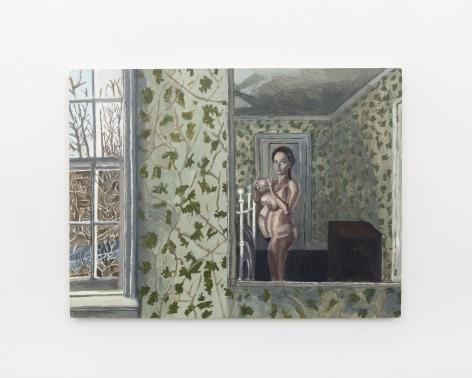 Polina Barskaya, Early Morning, 2019, Acrylic on panel
