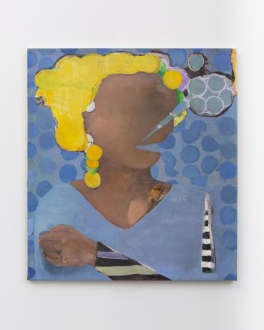 Cristina Canale, Talkative, 2018, Mixed media on canvas