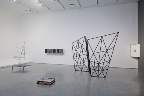 Saturnine Swing (Installation View), Marianne Boesky Gallery (Chelsea), 2014