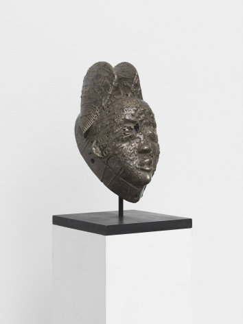 Sanford Biggers's BAM sculpture for sale at a Chelsea art gallery