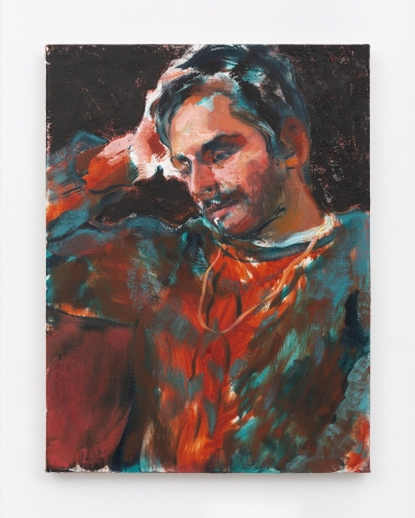 Doron Langberg, Salman, 2019, Oil on linen