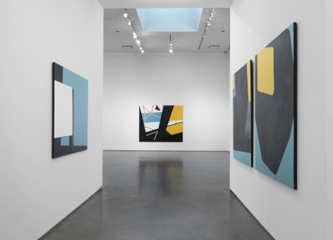 Colour & Form in BLACK (Installation View), Marianne Boesky Gallery, 2016