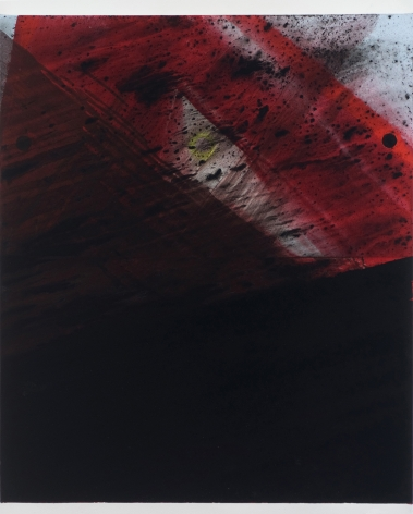 Untitled (Red Wave), 2008, Acrylic on canvas