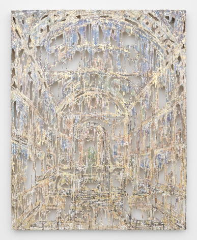 an architecutral wall panel by Diana Al-Hadid available for purchase