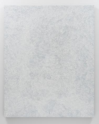 Yayoi Kusama, Infinity Nets QNTBH, 2006, Acrylic on canvas