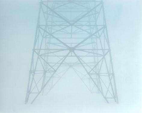 Gotthard (Passes #6), 2001, C-print mounted on aluminum