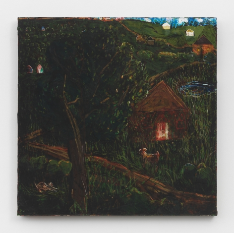 Abandoned House, 1999, Oil on canvas