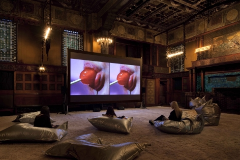 Installation View, The Ghosts,Art Production Fund in association with Park Avenue Armory, 2011