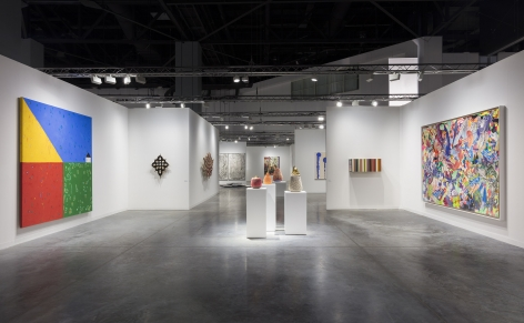 Installation view of Art Basel Miami Beach art fair
