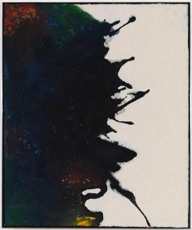 Untitled, 2013, Ink on carpet