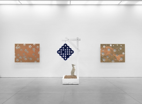 any fallow field (Installation View), Boesky East, 2016