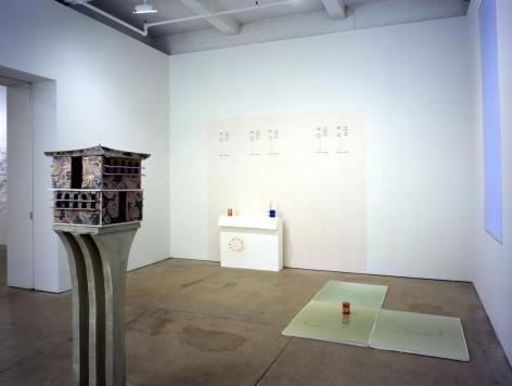 Crisp(Installation View), Marianne Boesky Gallery, 2002