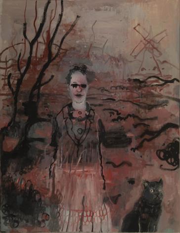 Hannah Van Bart painting