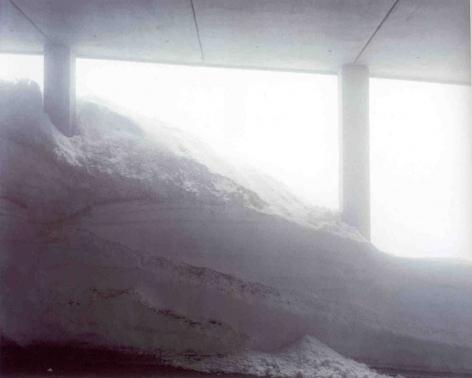 Gotthard (Passes #35), 2001, C-print mounted on aluminum