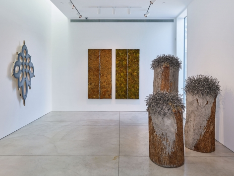 TONIC OF WILDNESS(Installation View), Boesky West, 2017– 2018