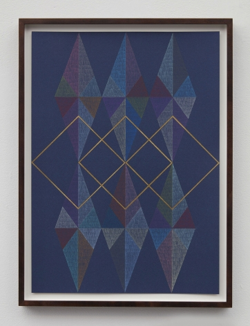 geometric abstraction artwork by artist claudia wieser