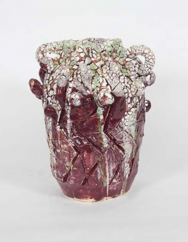 a ceramic vessel by william j. o'brien sold in a contemporary art gallery in new york