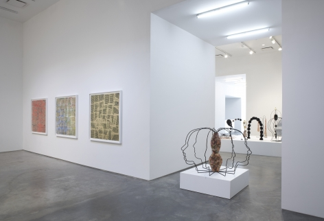 Breaking Open The Head (Installation View), Marianne Boesky Gallery, 2011