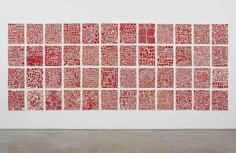 Wet 'n Wild(Installation View), Marianne Boesky Gallery, 2013