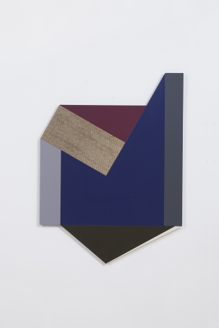 Untitled, 2015, Lacquer wood and marquetry